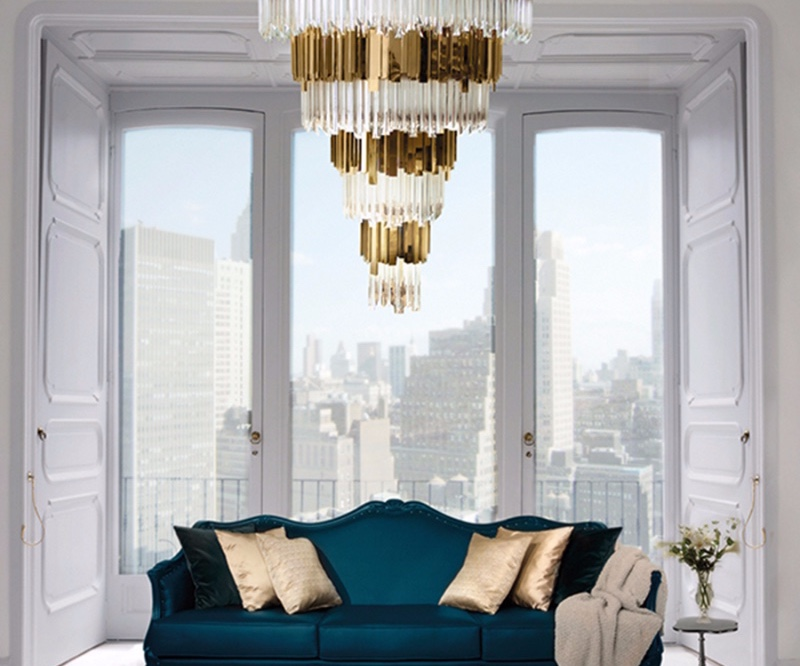 High Ceilings Modern Chandeliers
