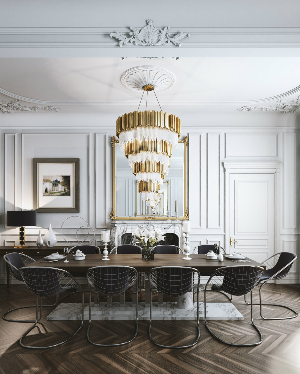 Give A Luxury Touch To Your Dining Room With These Luxury Chandeliers