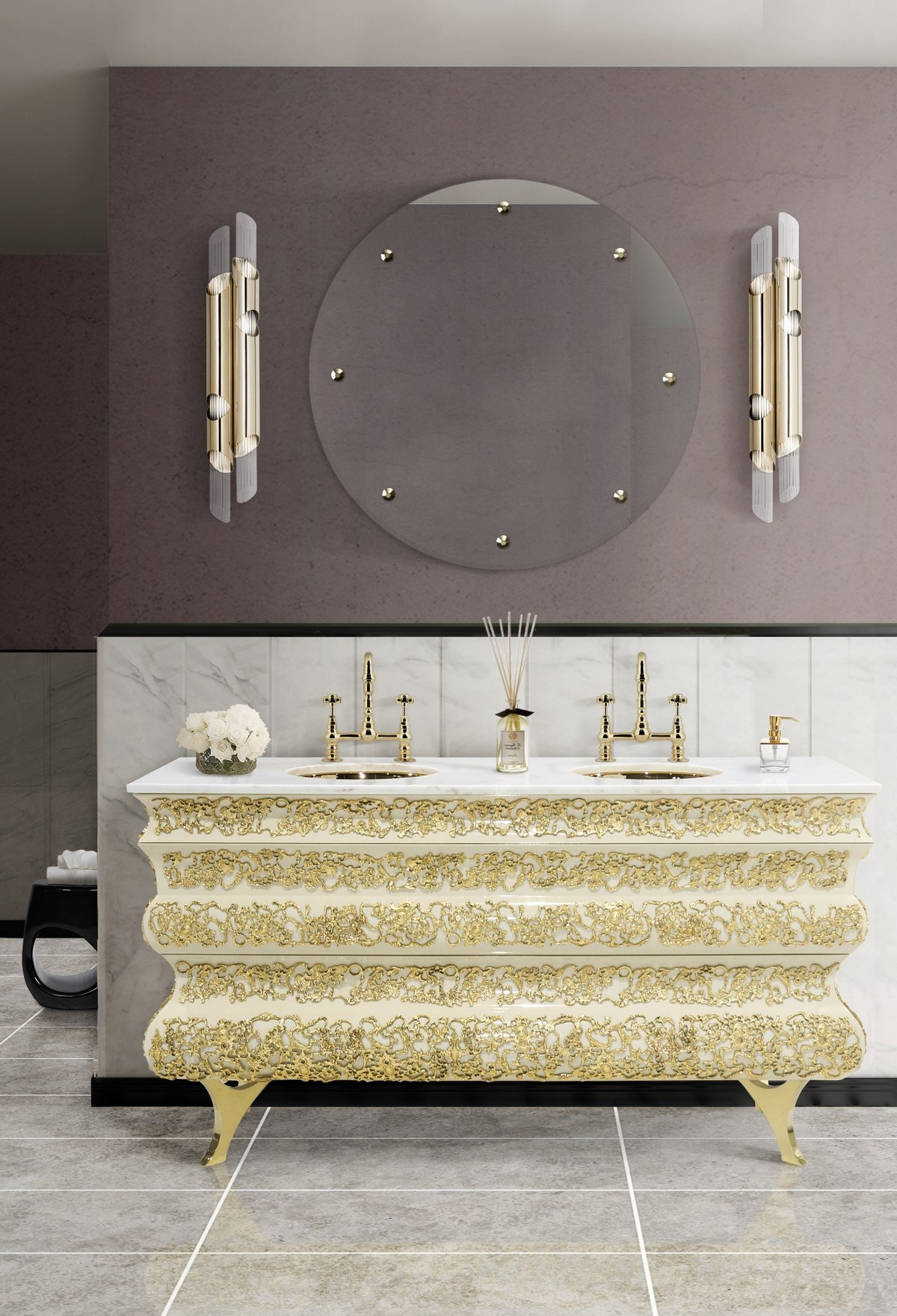 Luxury Lighting Designs For Your Bathroom