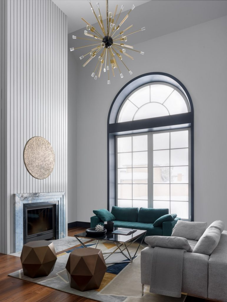 Luxury Lighting Designs At Marina Braginska's High-End Interior Design Project