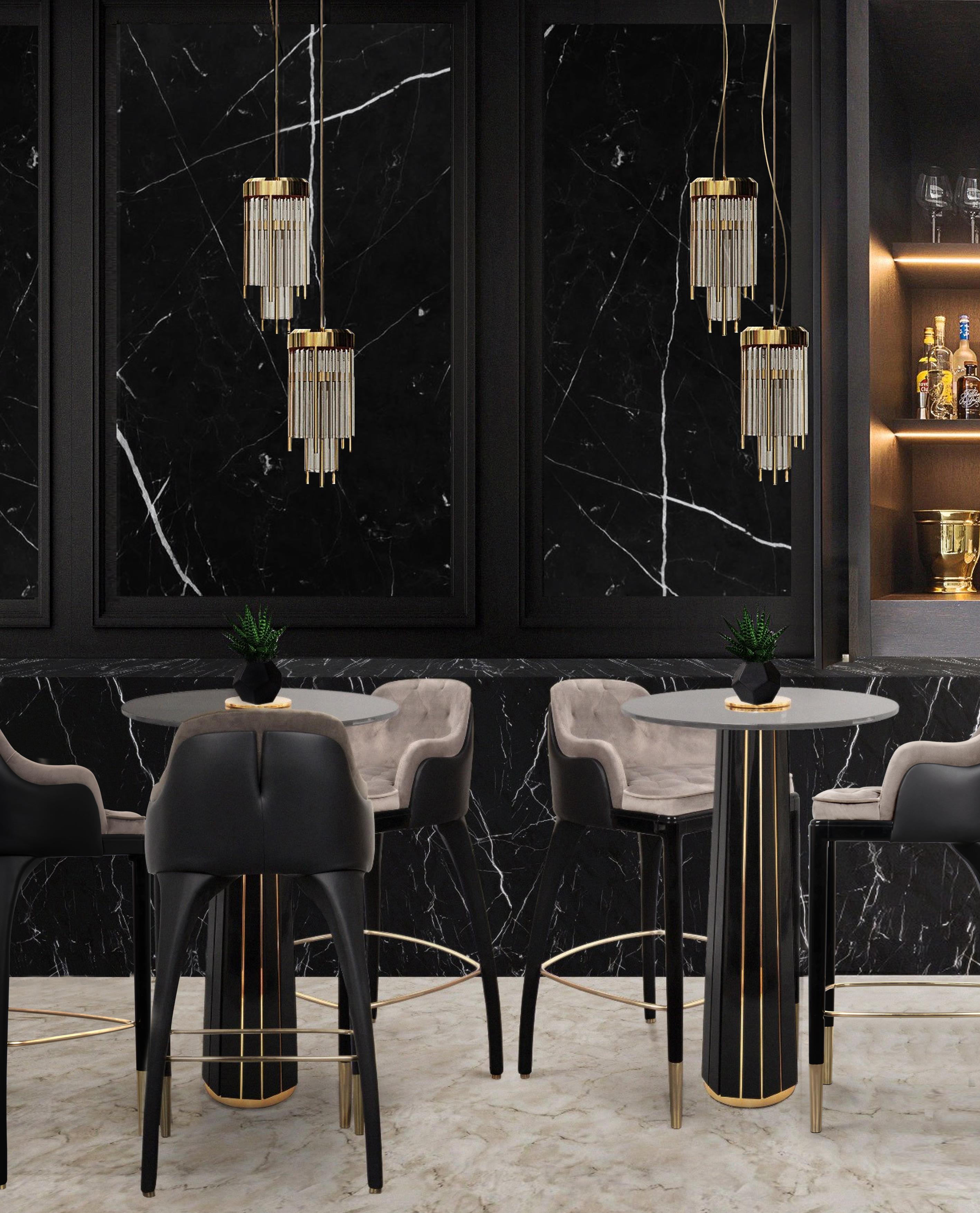 Be Inspired By The Best Bar Lighting Ideas