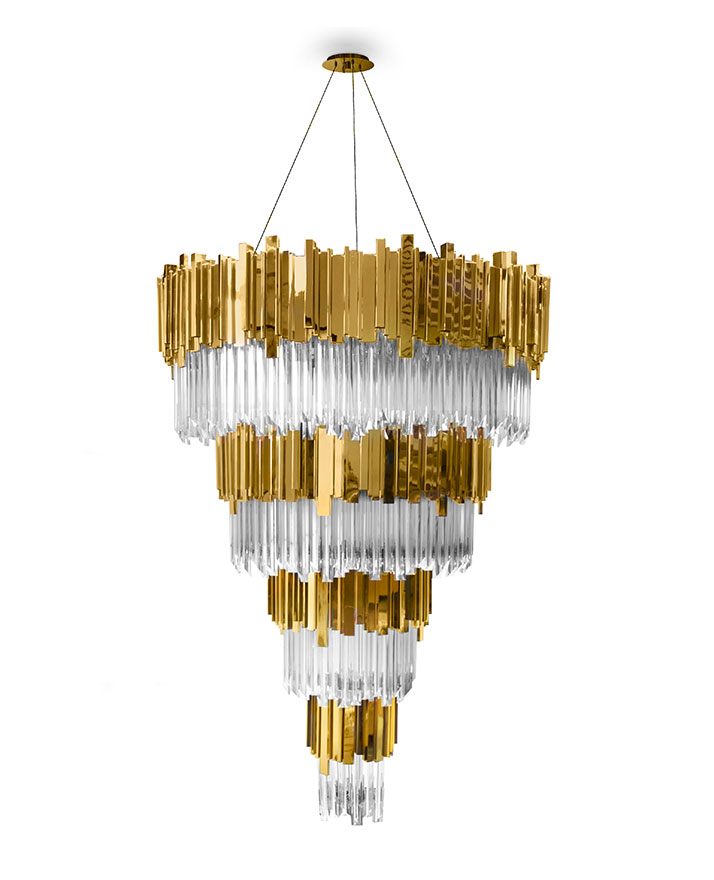 Luxury Lighting Fixtures Inspired By Iconic Landmarks