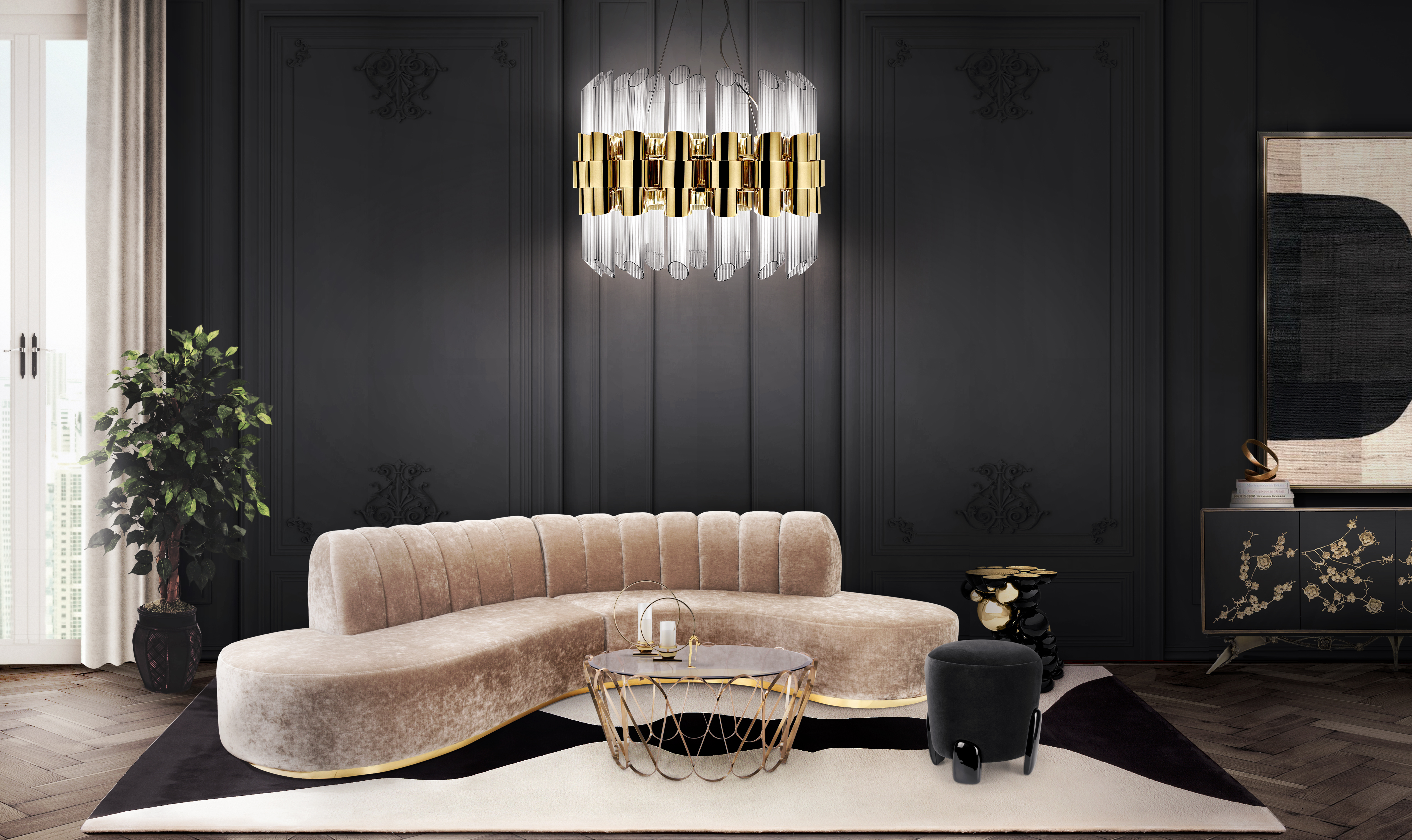 Renovate Your Luxury Living Room Lighting With These Pieces Modern Chandeliers