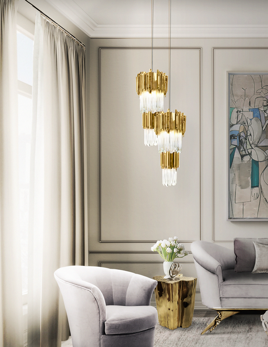 Renovate Your Luxury Living Room Lighting With These Pieces