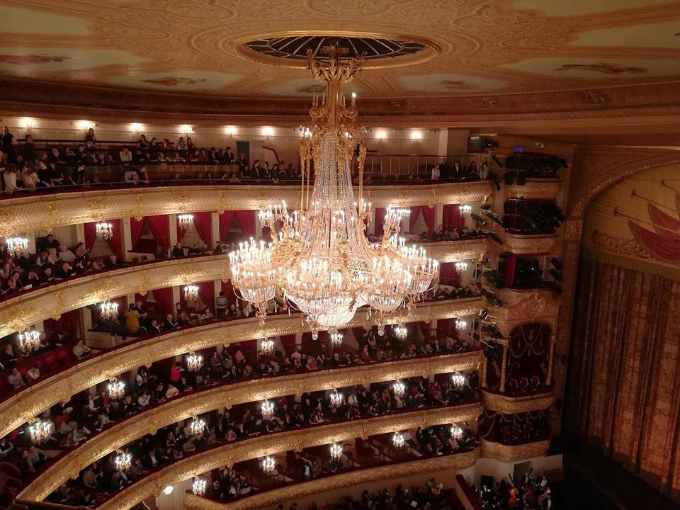 The Most Iconic Chandeliers At Opera Houses In Russia