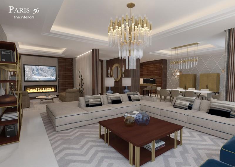 Luxury Lighting Designs At Paris 56 Fine Interiors' Design Project