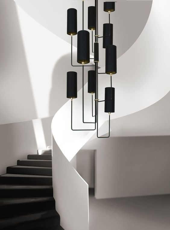 Staircase Chandelier Ideas