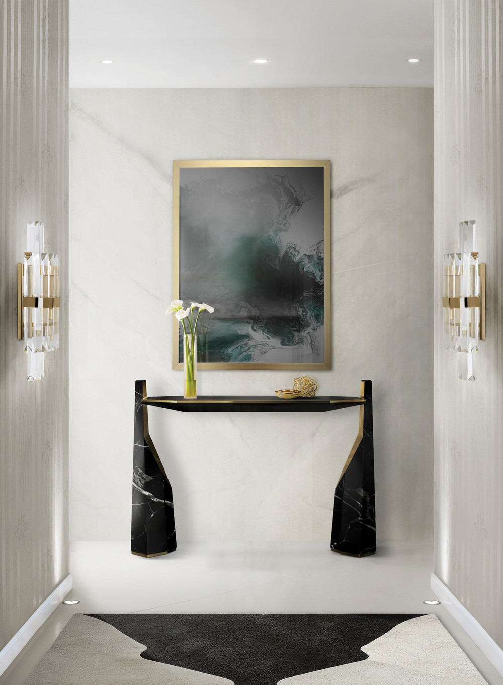 Be Inspired by a Series of Outstanding Entryway Lighting Ideas 8
