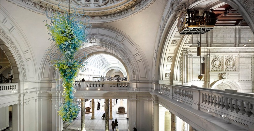 Revere the Most Sculptural Chandeliers Housed in Esteemed Institutions 1