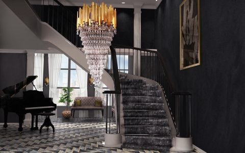 Starcaise Chandelier Ideas to Upgrade Your Home