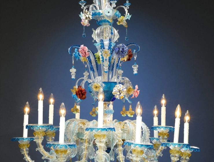 Murano Glass Venetian Chandeliers