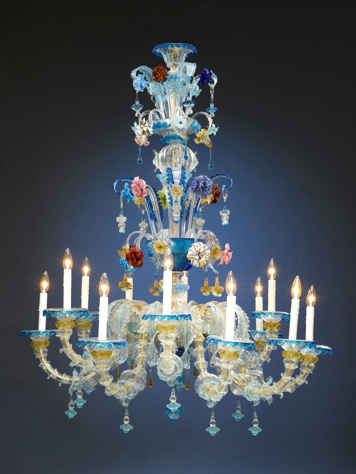 Murano Glass Venetian Chandeliers