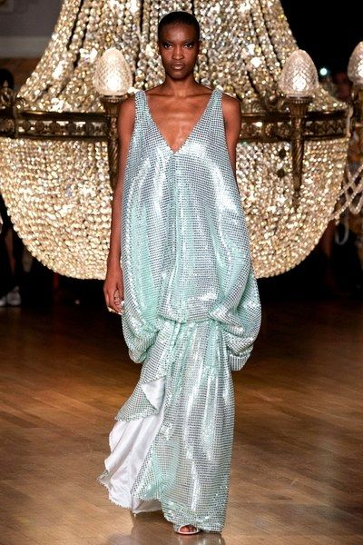Iconic Chandeliers In Fashion Shows