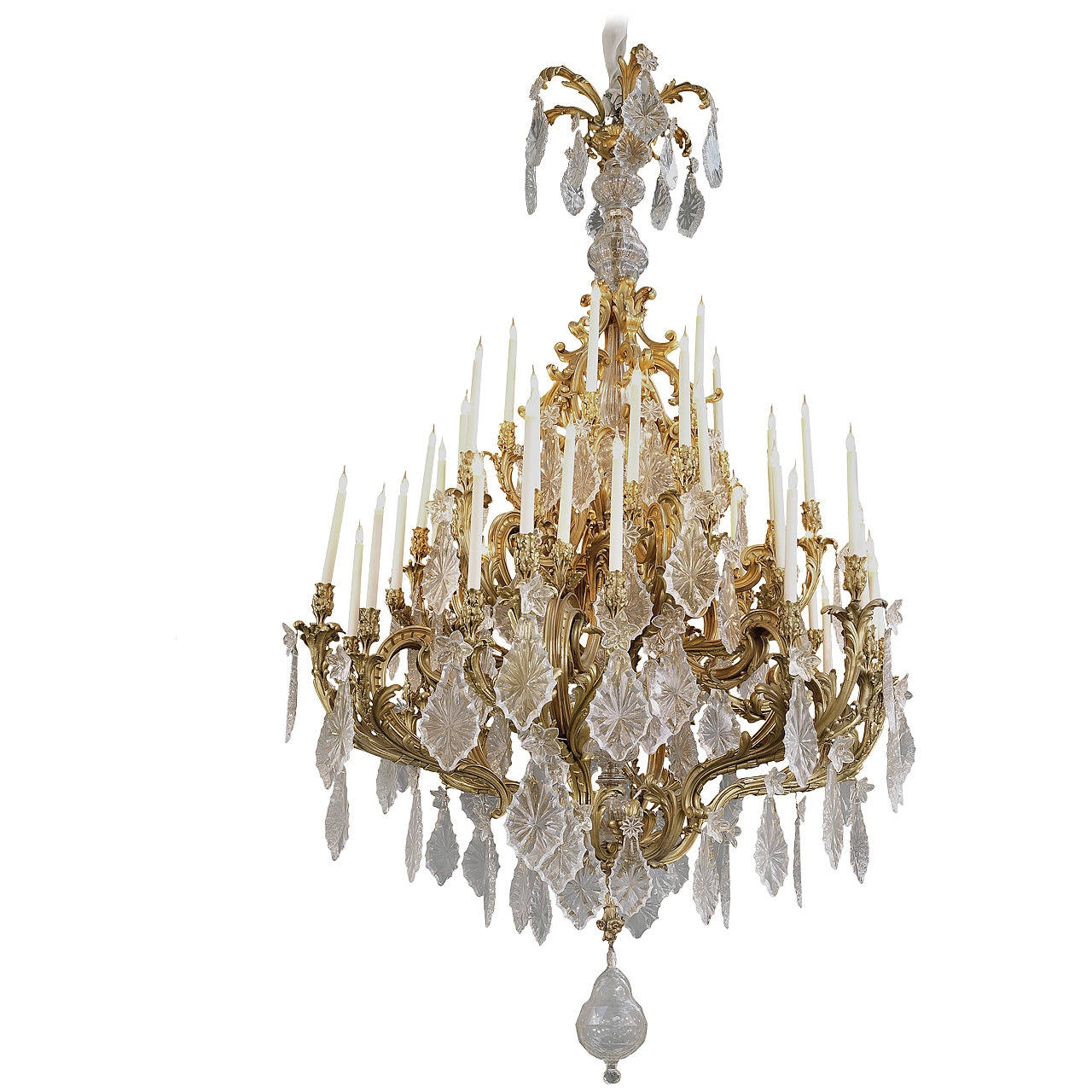 CLASSICAL FRENCH 48 CANDLE CHANDELIER