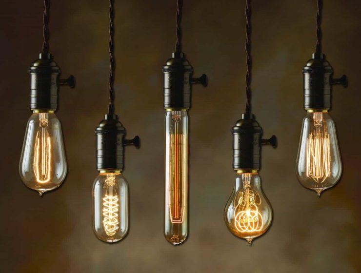 Modern interpretation of an Edison lamp