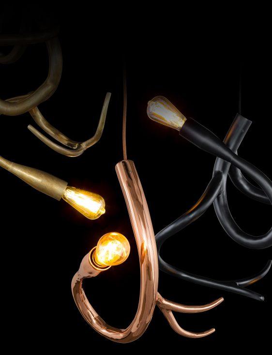Lamp Brand Van Egmond Design lamp Brand Van Egmond, model Edison's Tail