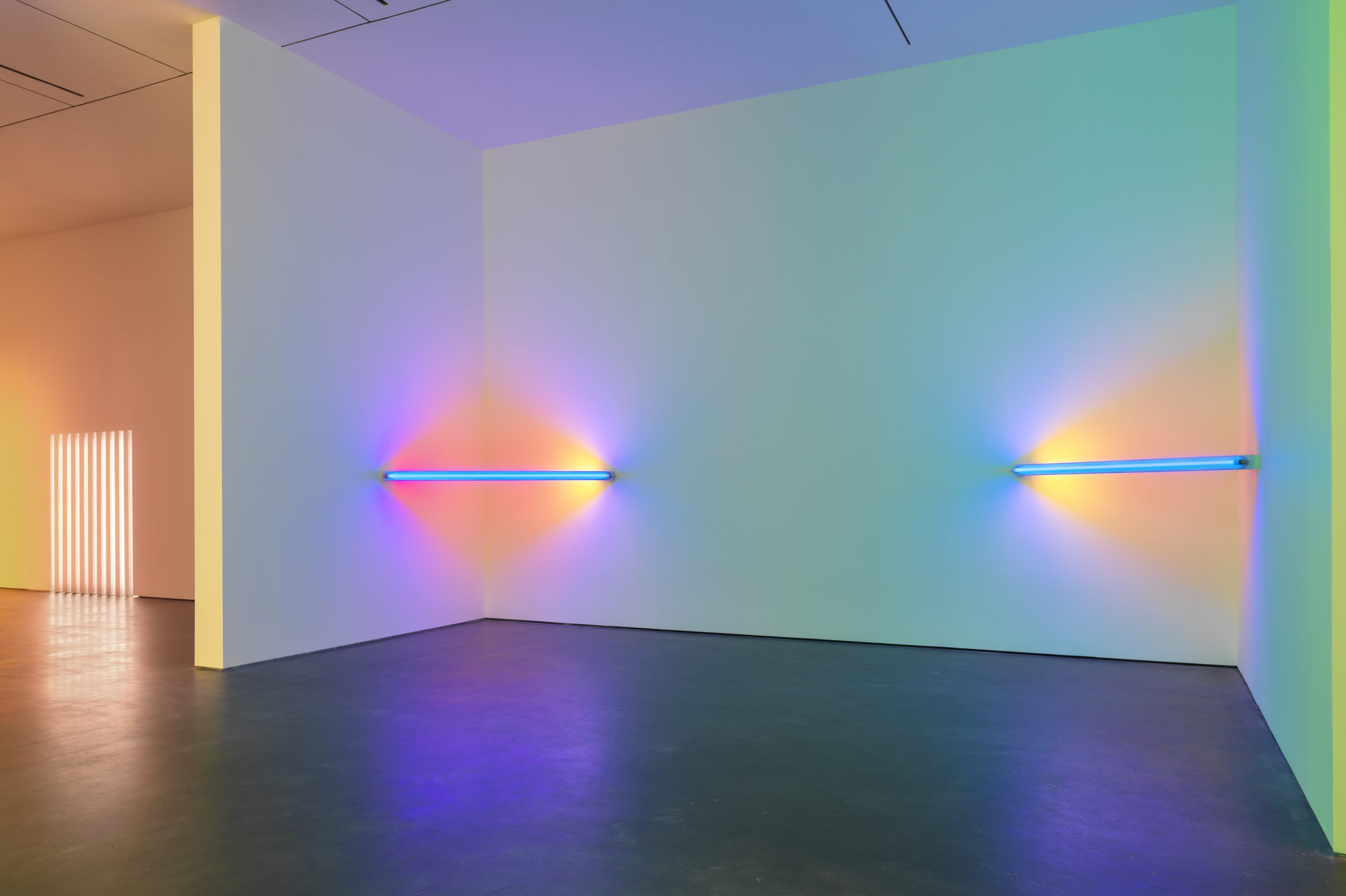 Light as Art: Corners, Barriers and Corridors - Dan Flavin