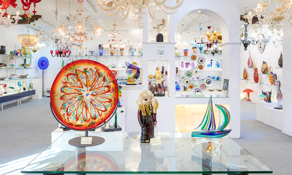 Murano glass products