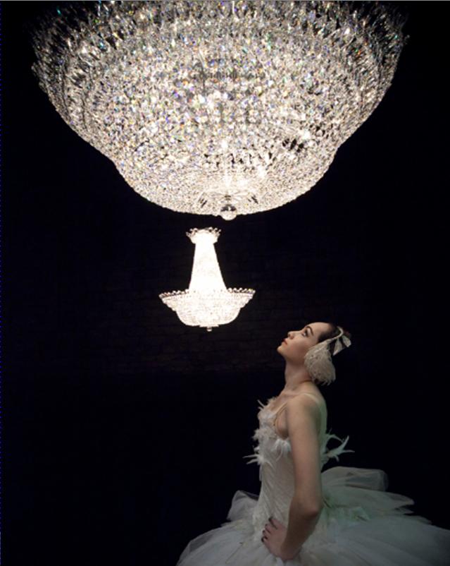 "Camelot chandelier in ""Black Swan"" movie"