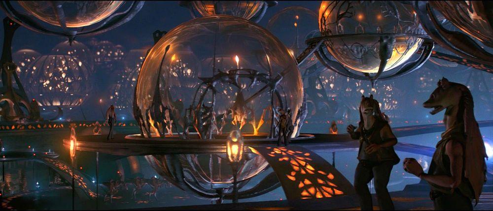 "Underwater city (""Star Wars""Episode I: The Phantom Menace)"