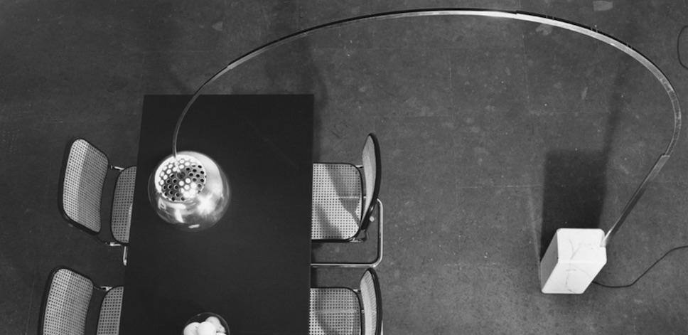 Arco lamp by Achille and Piere Giacomo Castiglioni