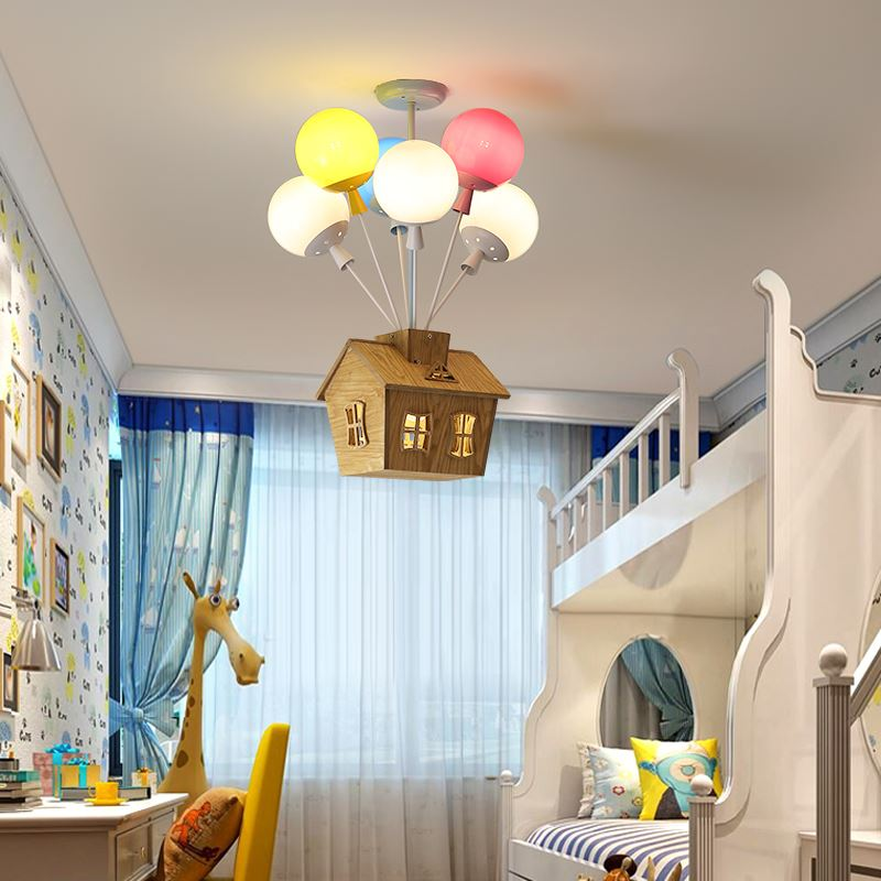 decorative light in the kids' room