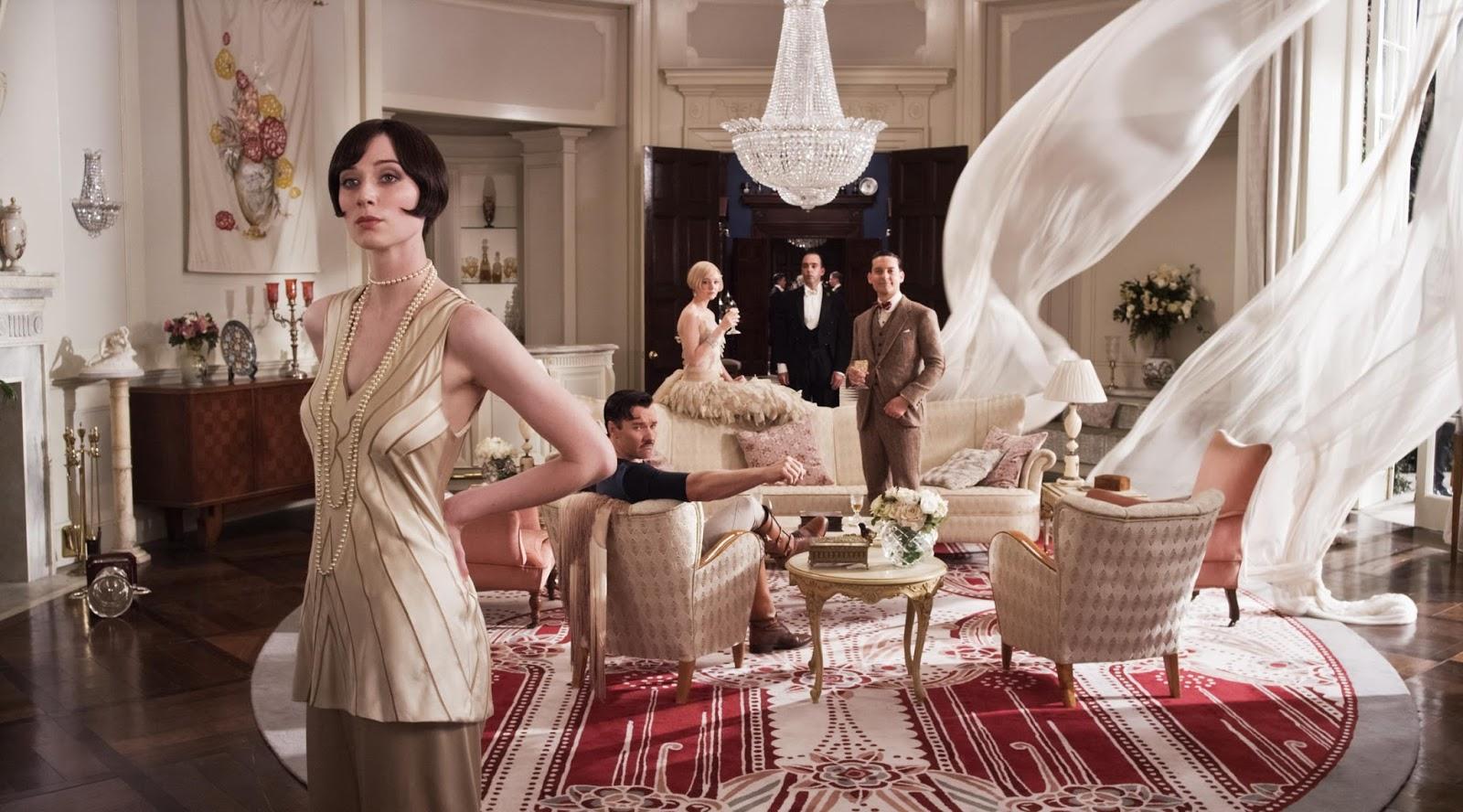 "Swarovski lamps in film ""The Great Gatsby""."