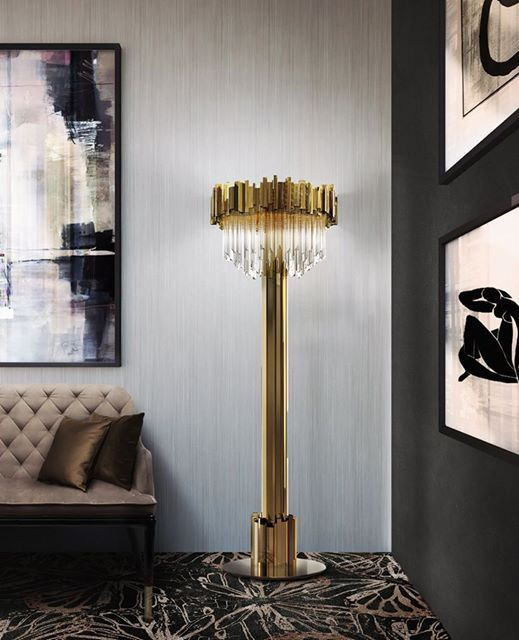 EMPIRE FLOOR LAMP by LUXXU