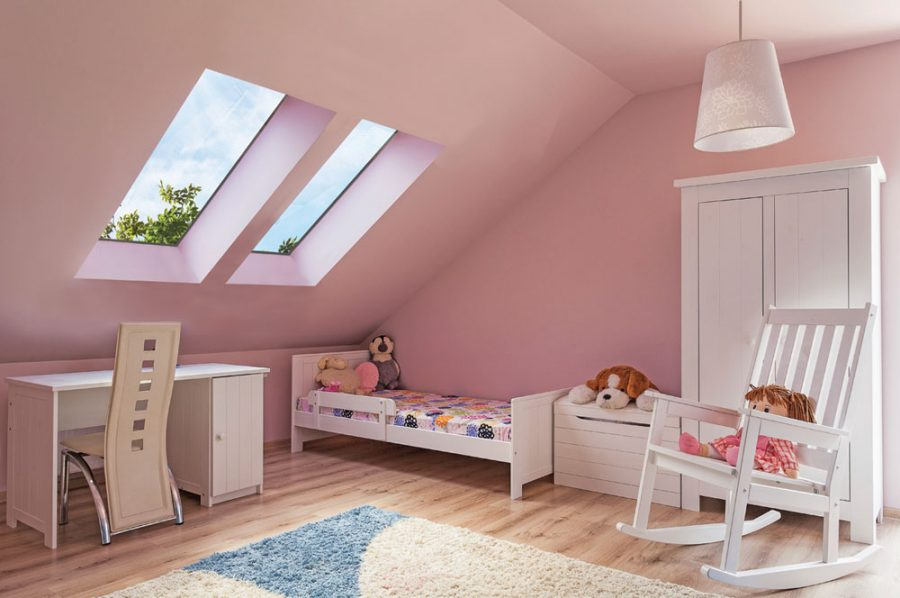 Natural light in the kids' room