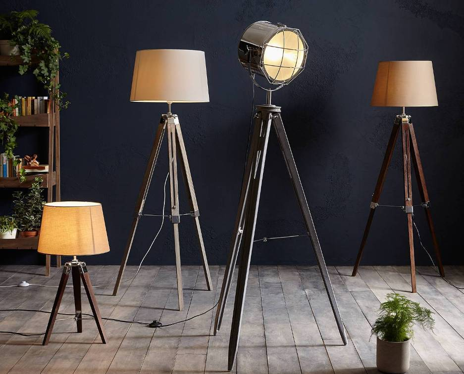Floor lamps from Germany
