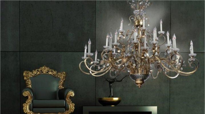 Czech Republic crystal lamps