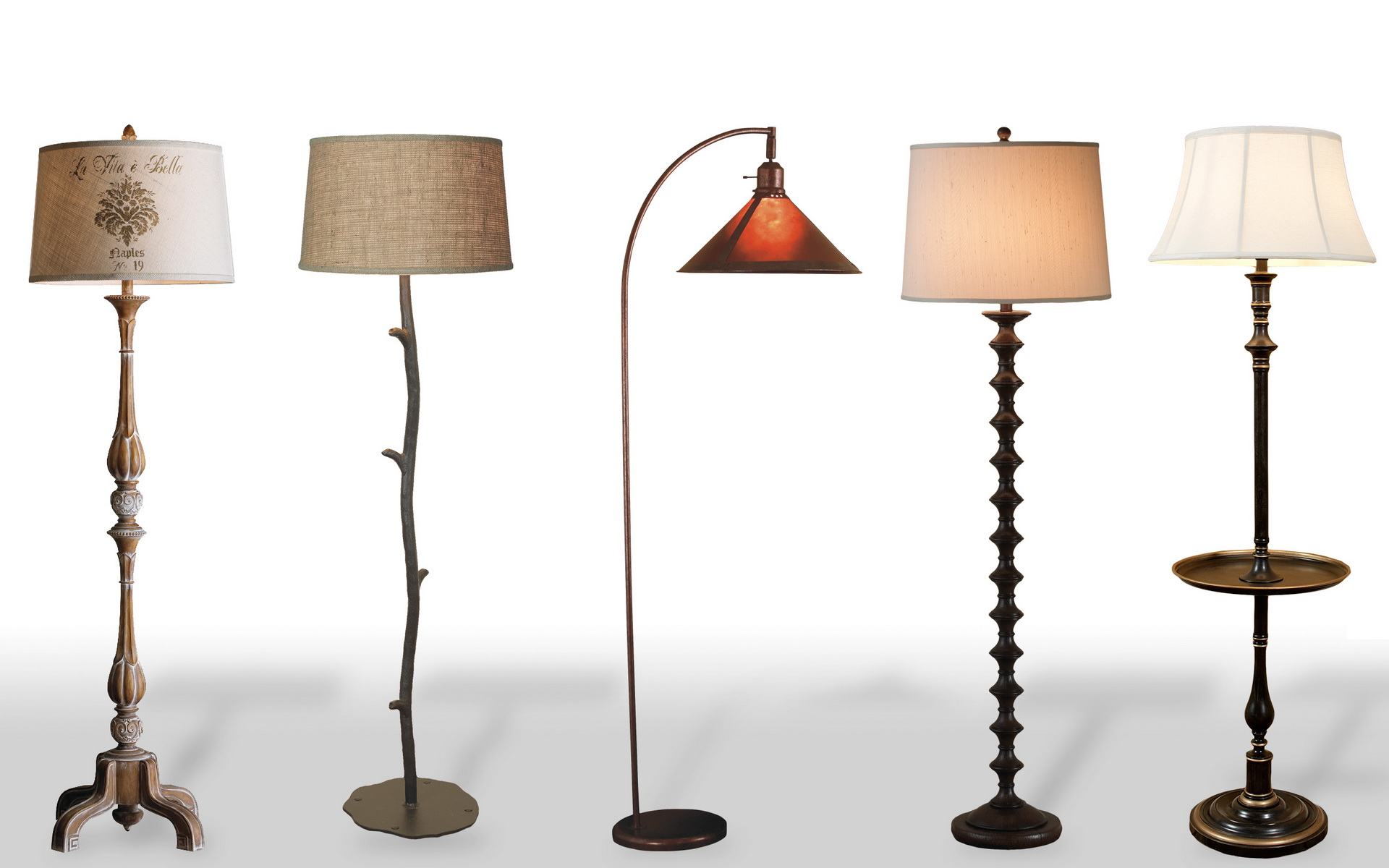 flor lamps from germany