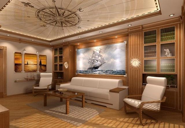 Marine style decore