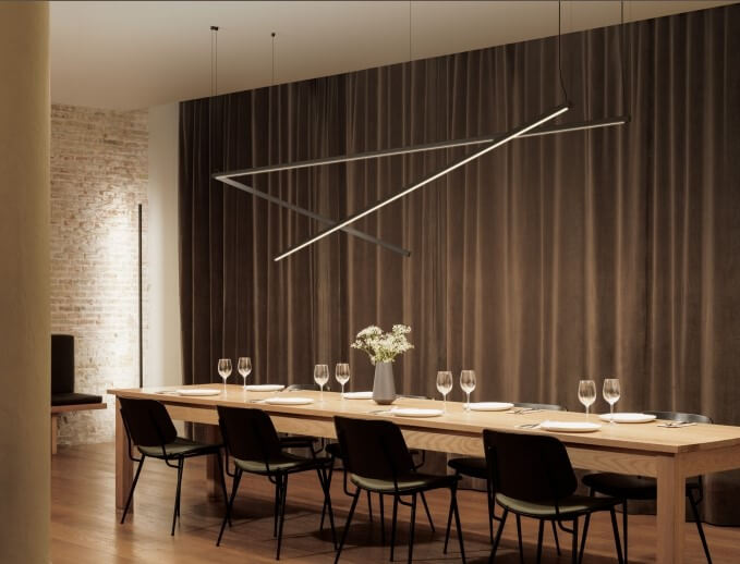 Lamps from the new Vibia collection
