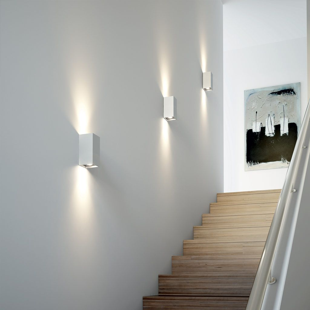 Sconces over the stairs