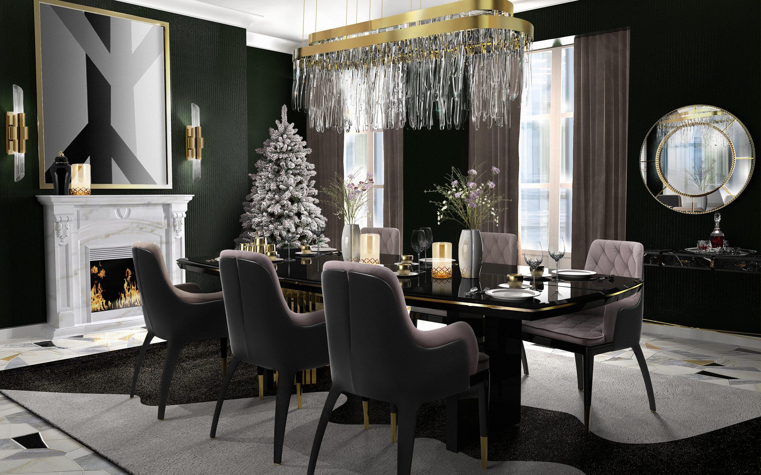 winter chandeliers