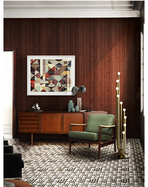 Golden Floor Lamps You Want to Have On The 2021 New Year's Eve