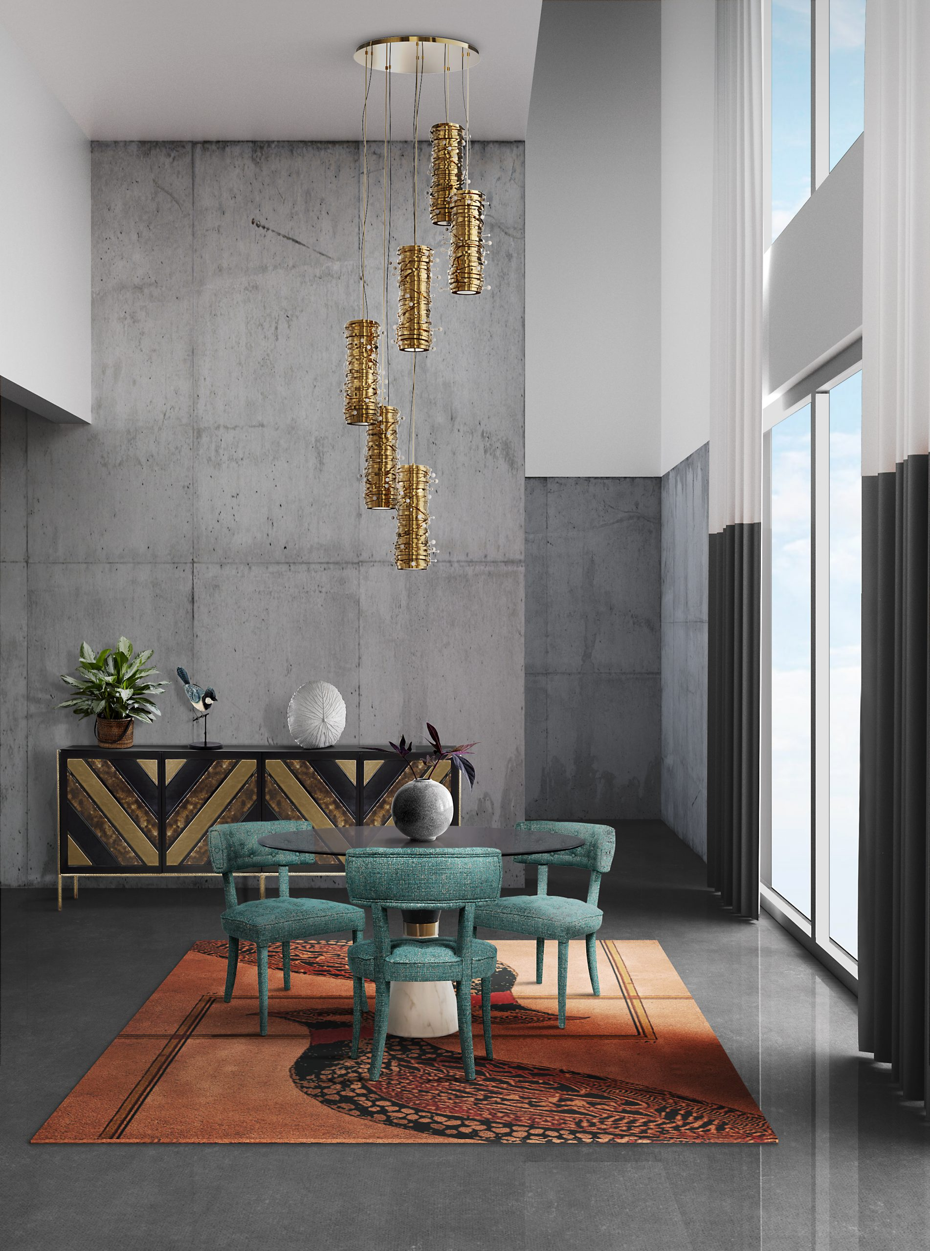 Diversify Your Suspension Lighting Luxuriously