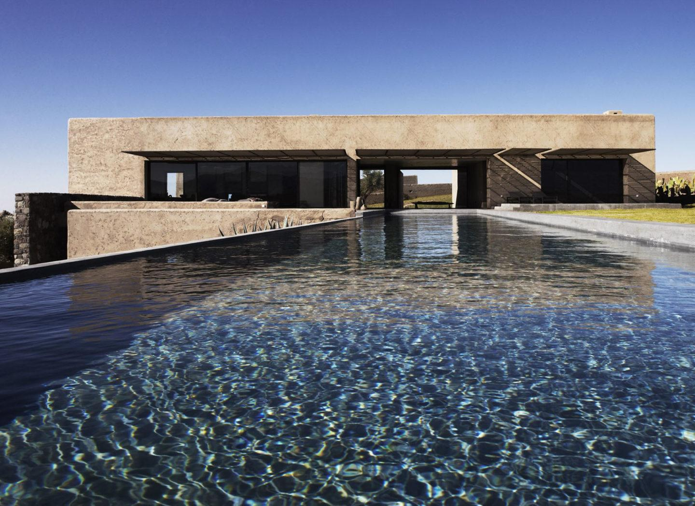 get to know studio ko- Moroccan Villa Overlooks The Snowy Atlas Mountains