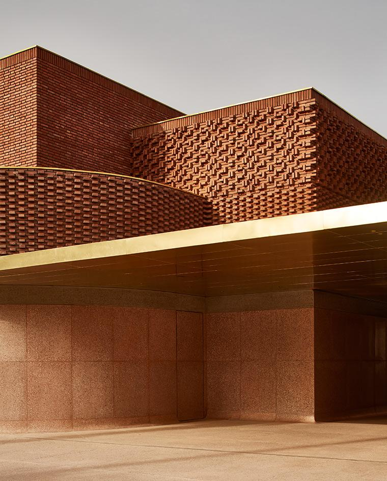 The Yves Saint Laurent Museum in Marrakech, Morocco