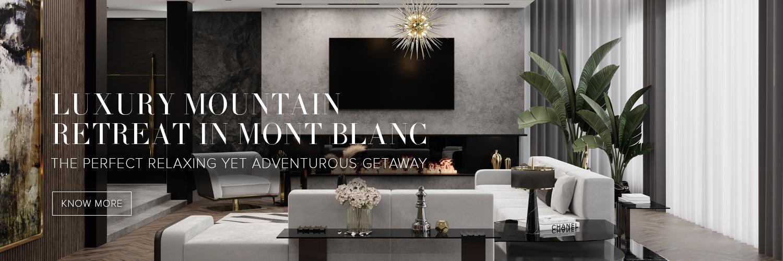 Luxury mountain retreat Mont Blanc